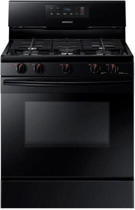 "NX58K3310SB 30"" Freestanding Gas Range with 5.8 cu. ft. Oven Capacity  5 burners  Touch Control and Storage drawer in"