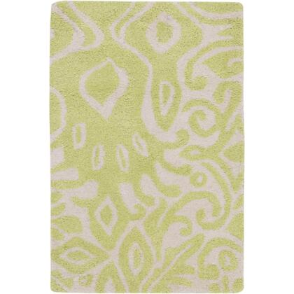 Alhambra Alh5002-23 2 X 3 Rectangular 100% Wool Hand Tufted Rug With Medium Pile And Made In India In Beige And