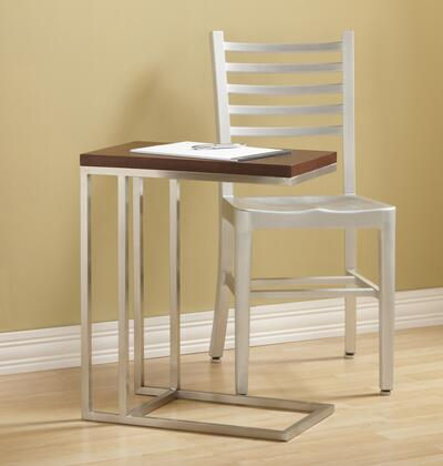 390111 Ogden C-table With Shed Stainless Steel Frame  Smooth and Absolutely Seamless Corners  1