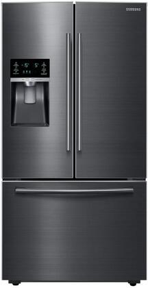 """RF28HFEDBSG 36"""" Energy Star French Door Refrigerator with 28.07 Cu. Ft. Capacity  Twin Cooling Plus  Ice Master Ice Maker  Filter Water and Ice Dispenser:"""