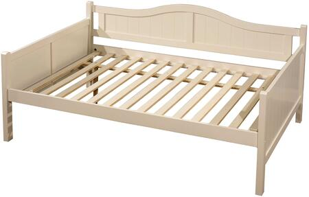 Staci Collection 1525FDB Full Size Daybed with Gently Arched Back Panel  Slat Kit Included and Sturdy Wood Construction in