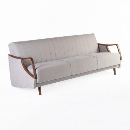 FEC6539LGREY3 Corey Sleeper Sofa in