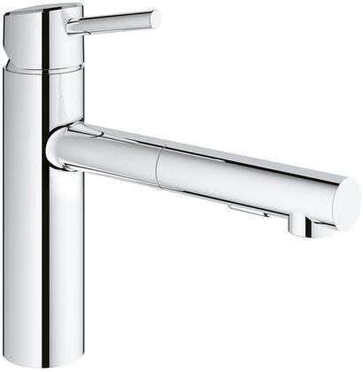 Grohe 31453001 Concetto Single-Handle Kitchen Faucet, Starlight