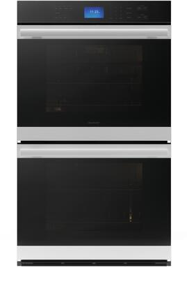 Sharp SWB3052DS 30 Inch 10 cu. ft. Total Capacity Electric Double Wall Oven with 6 or More Oven Racks, Convection, Sabbath Mode, Delay Bake, in Stainless Steel