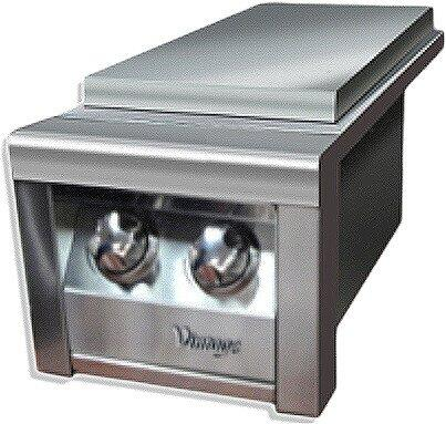 VSB2G 13 inch  Built-in Double Side Burner with