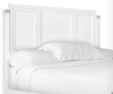 B2304-74 Clearwater Collection Complete California King Panel Bed in White