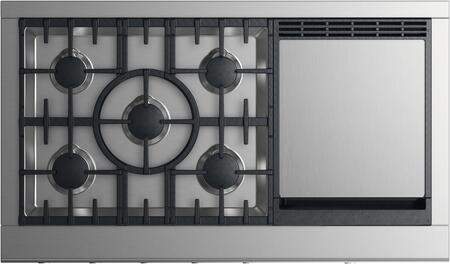 Fisher Paykel CPV2485GDLN 48 Inch Gas Cooktop