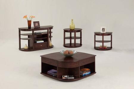 Sebring P543-25-03-05-29 4-Piece Set with Cocktail Table  End Table  Sofa Table and Chairside Table in Medium
