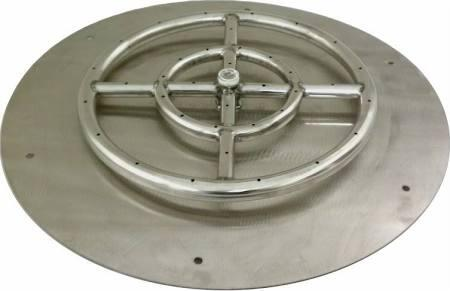 SS-RFP-12 12 inch  Round Stainless Steel Flat Pan