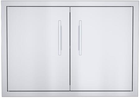 BA-DSH30 Signature Series 30 inch  Belved Frame Weather Sealed Dry Storage Pantry in Stainless