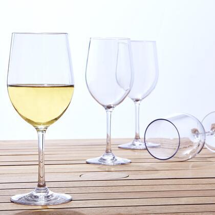 766 03 04 Indoor/Outdoor Chardonnay Wine Glasses (Set of