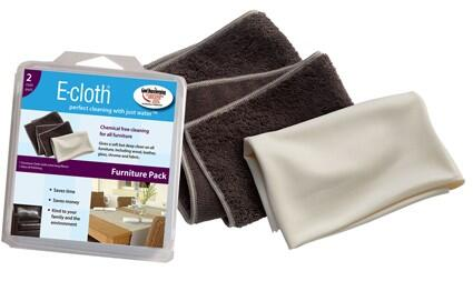 AECFPC10 Chemical-Free E-Cloth for Delicate Furniture Surfaces  Pack of