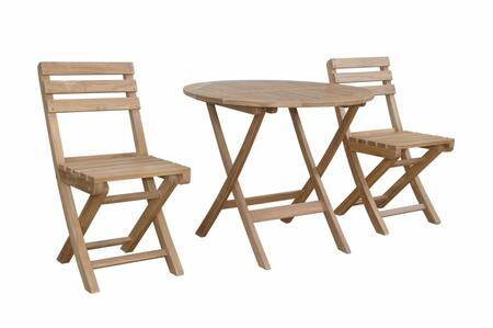 SET-225 3-Piece Bistro Set with 32