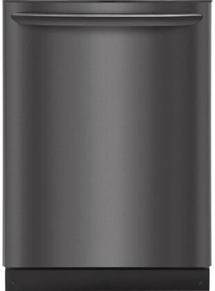 "Frigidaire Gallery 24"" Built-In Dishwasher Black stainless steel FGID2466QD"