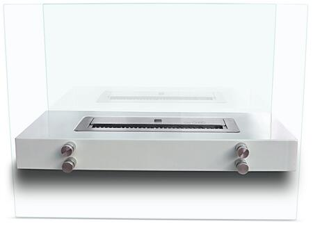 BR-06 Murano Series 23.5 inch  Wide Portable Bioethanol Fireplace: