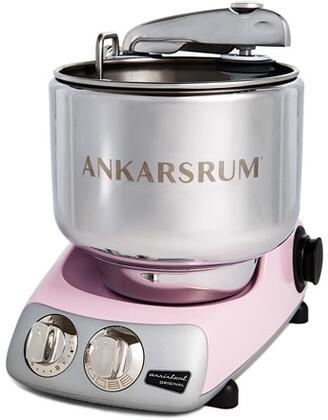 AKM6230PP Ankarsrum Original Mixer with 7 Liter Stainless Steel Bowl  3.5 L Double Whisk Bowl  Dough Hook  Roller  Scraper  Spatula  Dust Cover  Cookie Beaters
