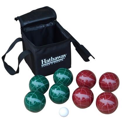 BG3121 10-Piece Bocce Ball Set with 8 Bocce balls  Pallino Ball and Nylon Carry
