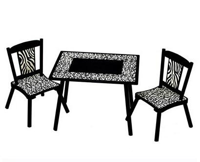 LOD71002 Wild Side Table & 2 Chair