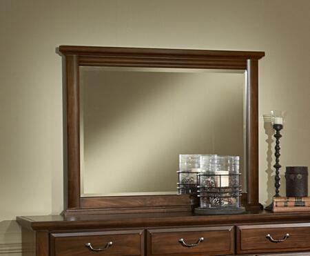780-446 Remington Landscape Mirror with Bevel Glass  and Solid Wood Construction  in Dark Tobacco