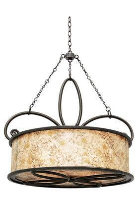 6585AC Whitfield 4 Light 27 5 in. Pendant W/O