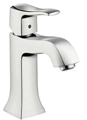 Hansgrohe 31075821 Metris C Single-Hole Faucet with Boltic Handle Lock: Brushed Nickel