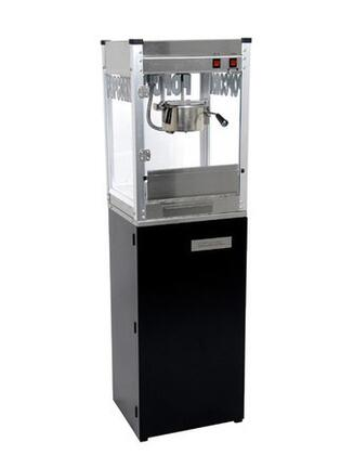 1108710 8-Oz. 20 inch  Professional Series Popcorn Machine with Commercial Grade Stainless Steel Construction  Built-in Warming Deck and Popcorn