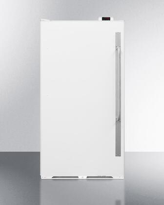 "SCUR18NCLHD 34"" Commercially Approved Full Size Refrigerator with 16.7 cu. ft. Capacity  Left Hinge  Interior Light  Frost Free and Door Lock  in"