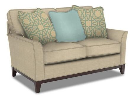 Perspectives Collection 4445-1/8510-82/4053-31/5594-34 57 inch  Wide Loveseat with 3 Pillows Included  DuraCoil Reversible Seat Cushions  Non-Sag Springs  and