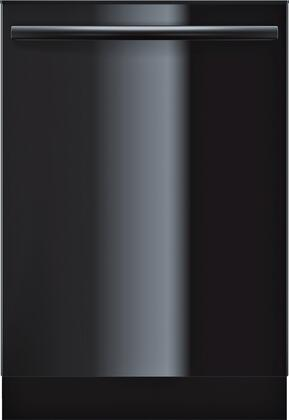 """Bosch Ascenta 24"""" Tall Tub Built-In Dishwasher with Stainless-Steel Tub Black SHX3AR76UC"""