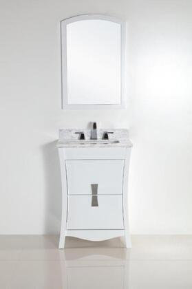 500701 Collection 50070124WCSET 2 PC Vanity Set with 24