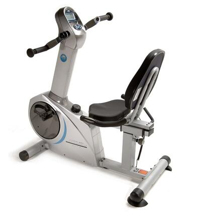 15-9100 Elite Total Body Recumbent Bike with 8 Levels of Magnetic Resistance  Upper Hand Pedals  Padded Seat and Pulse