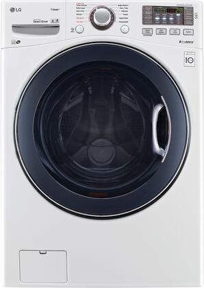 "WM3770HWA 27"""" Energy Star Qualified Front Load Washer with 4.5 cu. ft. Capacity  12 Wash Programs  TurboWash  Steam Technology  Allergiene Cycle  LoadSense"" 710246"
