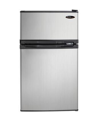 Danby Designer 3.1 Cu. Ft. Compact Refrigerator Stainless Steel DCR031B1BSLDD