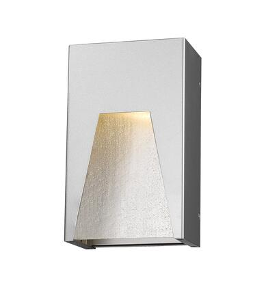 Millenial 561S-SL-SL-SDY-LED 6 1 Light Outdoor Wall Light Contemporary  Metropolitan  Modernhave Aluminum Frame with Silver finish in Clear