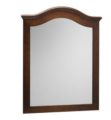 606030-F13 30 inch  x 38 inch  Marcello Style Wood Framed Mirror: Cafe