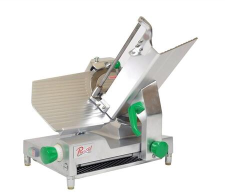 PS12D 12 inch  Meat Slicer with 12 inch  Blade Size  .5 HP  Belt Drive Transmission  300 RPM  in Stainless
