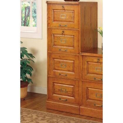 5318N Palmetto Oak File Cabinet with 4 Drawers by Coaster