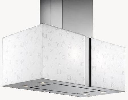 IS27MURALFALED 27 inch  Murano Zebra Series Range Hood with 940 CFM  4-Speed Electronic Controls  Delayed Shut-Off  Filter Cleaning Reminder  Internal Whisper-Quiet