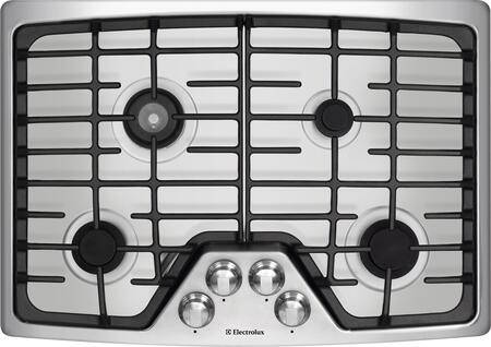 Wave-Touch Series EW30GC55GS 30 Sealed Burner Gas Cooktop With 4 Sealed Burners  Min-2-Max Burner  Continuous Grates  Professional-Grade Control Knobs  ADA