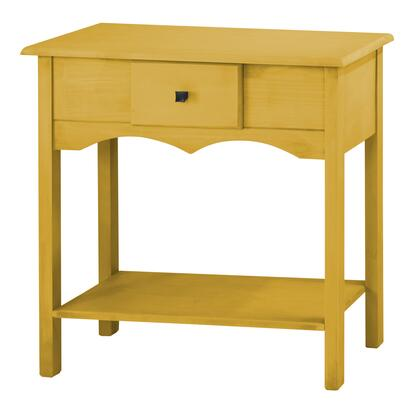 "CS50202 Jay 31.49"" Tall Sideboard with 1 Full Extension Drawer in Yellow"