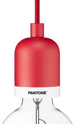 Pantone DB-67653 Deneb Mini Pendant with 10 Feet Fabric Covered Cable  Steel  Aluminum Alloy and Fabric Covered Cable in