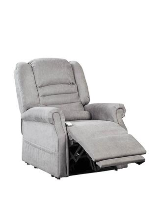 Serene NM1850-DOF-A11 33 inch  Power Recliner Lift Chair with Infinite Position Mechanism  Chaise Pad and Sinuous Spring and Foam Seat in