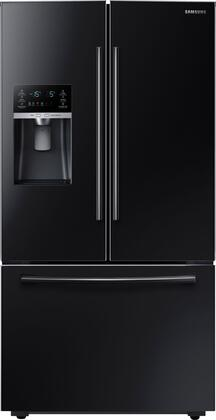 """RF23HCEDBBC 36"""" Counter Depth French Door Refrigerator with 23 Cu. Ft. Capacity  Twin Cooling Plus  CoolSelect Pantry  High-Efficiency LED Lighting  and"""