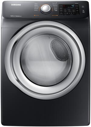 Samsung 7.5 Cu. Ft. 10-Cycle Electric Dryer with Steam White DVE45N5300W