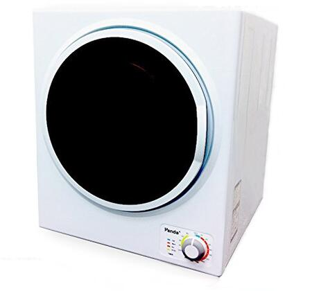 PAN745SF 24 inch  Compact Dryer with 2.65 cu. ft. Capacity  Transparent Window  Stainless Steel Drum  4 Temperature Selections  and Removable Lint Filter: