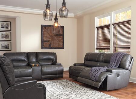 McCaskill Collection U60900-47-96-82 3-Piece Living Room Sets with Motion Sofa  Loveseat and Recliners in