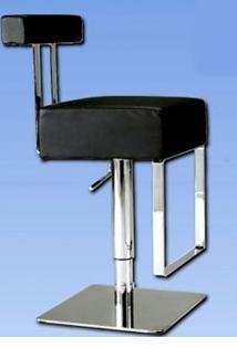 0812-AS-BLK Pneumatic Gas Lift Adjustable Height Swivel