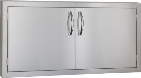 SSDD42M Masonry 42 inch  Double Door  in Stainless