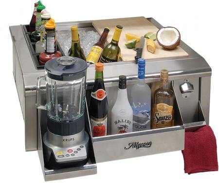 Barpackage 30 Bar Package For Main Sink System  Includes Cutting Board  Speed Rail  Towel Holder  6 Deep Ice Pan  Bottle Wells  Blender Shelf  Bottle Opener