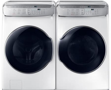 White Laundry Pair with WV60M9900AW 27
